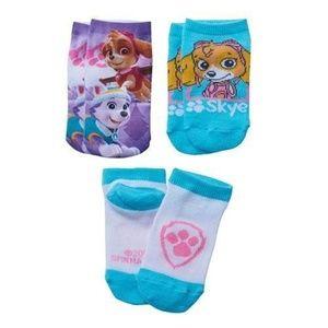 Nickelodeon - Paw Patrol Toddler Girls Socks (NIP)
